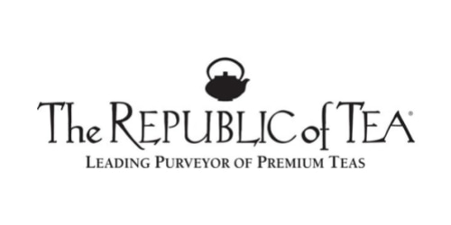 The Republic of Tea coupon