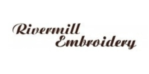 Rivermill Embroidery coupon