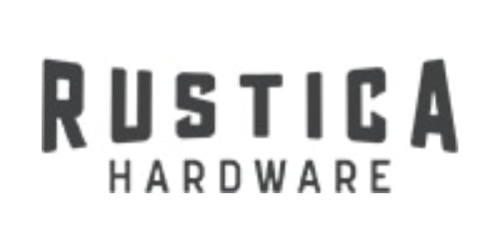 Rustica Hardware coupon