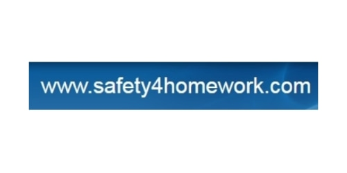 Safety 4 Homework coupon