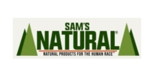 Sam's Natural coupon