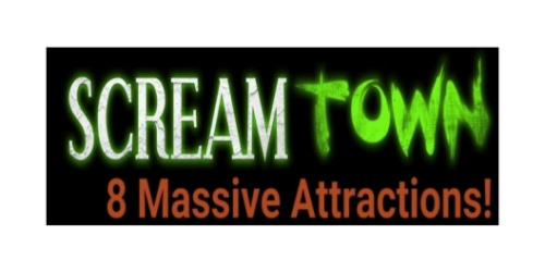 Scream Town coupon