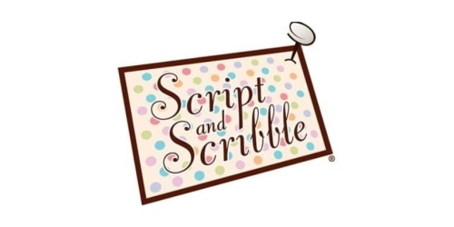 Script and Scribble coupon