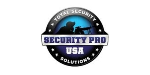 Security Pro USA coupon