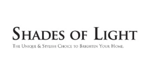 Shades of Light coupons