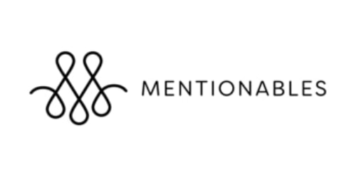 Mentionables coupon