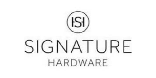 Signature Hardware coupons