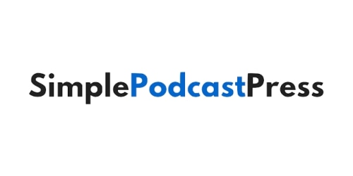 Simple Podcast Press coupon