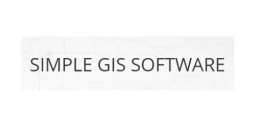 Simple GIS Software coupon