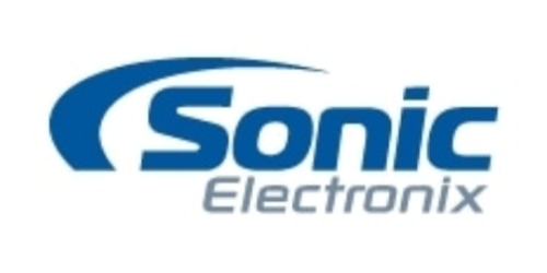 Sonic Electronix coupon