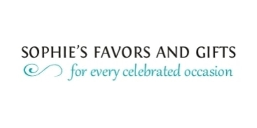 Sophie's Favors and Gifts coupon