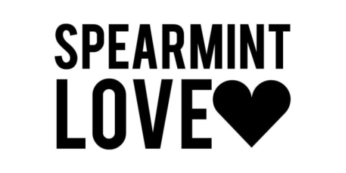 Spearmint Love coupon