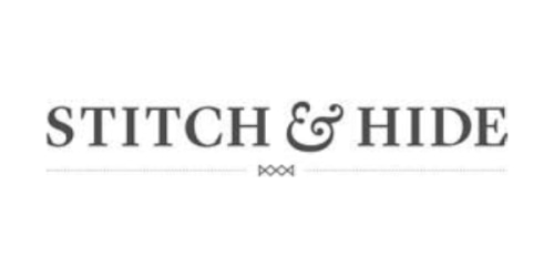 Stitch and Hide coupon