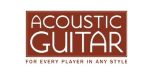 Acoustic Guitar coupon