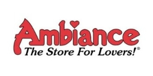 Ambiance, the Store for Lovers coupon