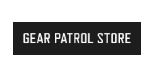 Gear Patrol Store coupon