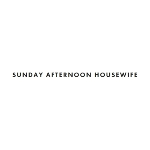 Sunday Afternoon Housewife