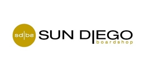 Sun Diego Boardshops coupon