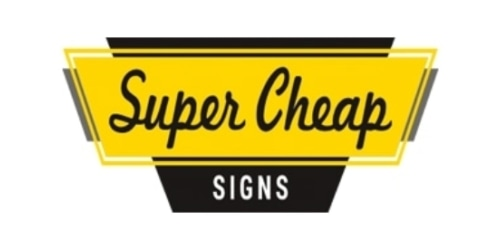 Super Cheap Signs coupon