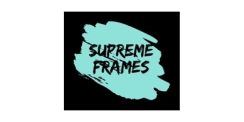 Supreme Frames coupon
