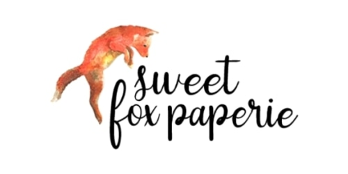 Sweet Fox Paperie coupon