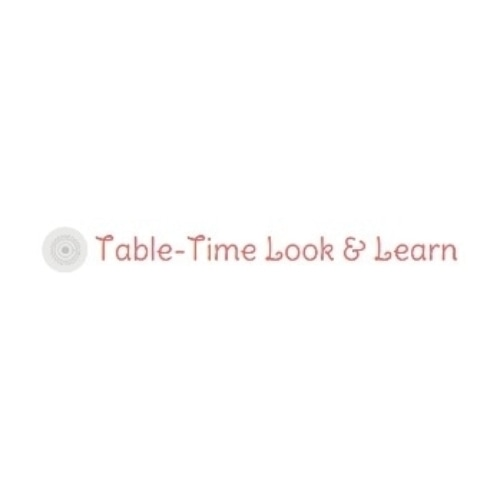 Table-Time Look & Learn