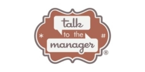 Talk to the Manager coupon