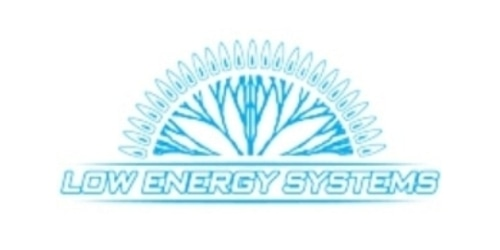 Low Energy Systems coupon