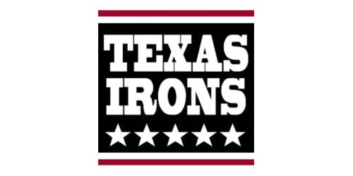 Texas Irons coupon
