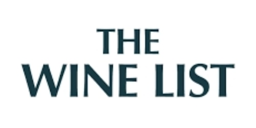 The Wine List coupon