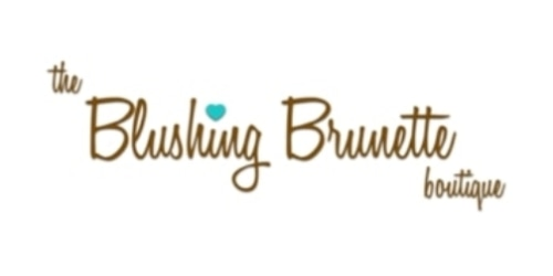 The Blushing Brunette coupon