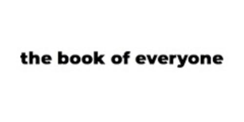 The Book Of Everyone coupon