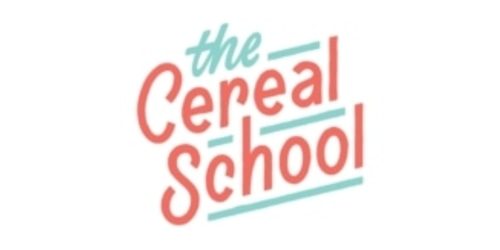 The Cereal School coupon