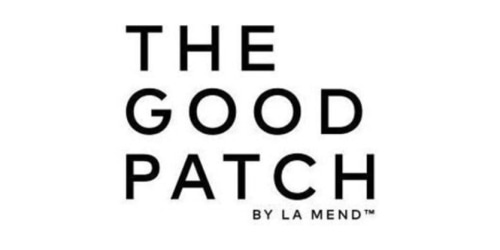 The Good Patch coupon