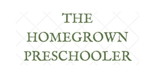 The Homegrown Preschooler coupon