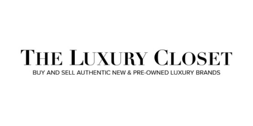 The Luxury Closet coupon