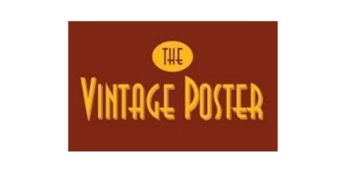 The Vintage Poster coupon
