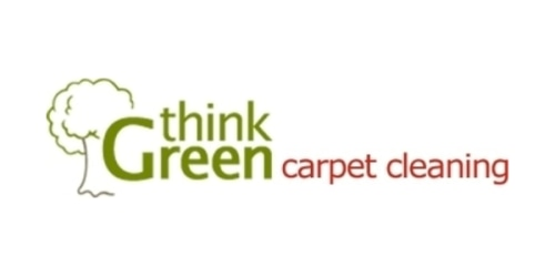Think Green Carpet Cleaning coupon