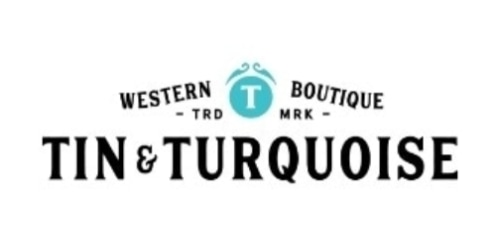 Tin & Turquoise Western Boutique coupon