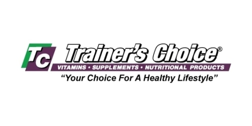 Trainer's Choice coupon