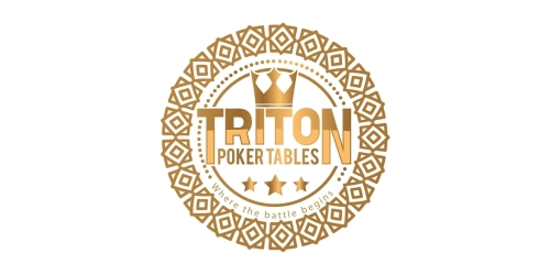 Triton Poker Tables coupon