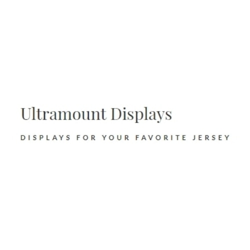 Ultra Mount Jersey Display System