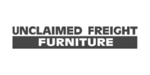 Unclaimed Freight Furniture coupon