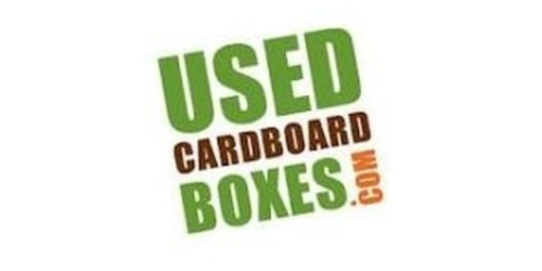Used Cardboard Boxes coupon