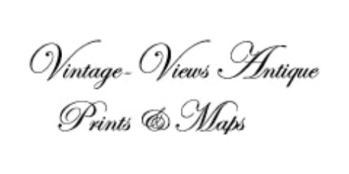 Vintage-Views Antique Prints and Maps coupon