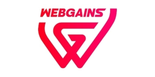 Webgains coupon
