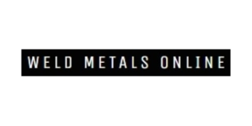 Weld Metals Online coupon