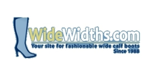 WideWidths.com coupon