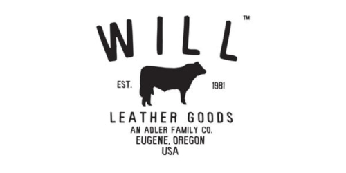 WILL Leather Goods coupon