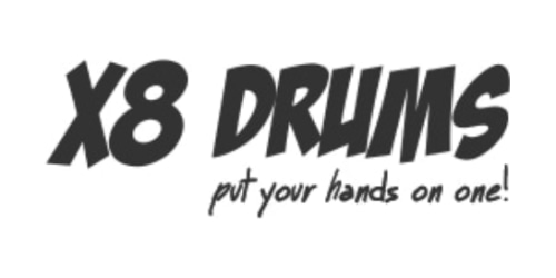 X8 Drums coupon